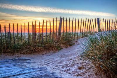 Photograph - White Sands by Debra and Dave Vanderlaan