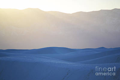 Photograph - White Sands Dune Mountain Sunset by Andrea Hazel Ihlefeld