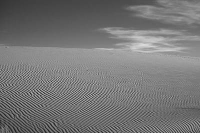 White Sands Dune Art Print by Peter Tellone