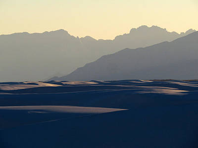 Photograph - White Sands Evening #30 by Cindy McIntyre