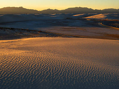 Photograph - White Sands Evening #35 by Cindy McIntyre