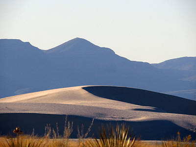 Photograph - White Sands Evening #5 by Cindy McIntyre