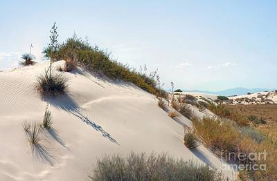 White Sands Icing Art Print by John Kelly