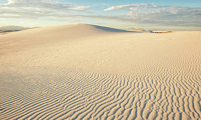 Desert Photograph - White Sands by Loree Johnson