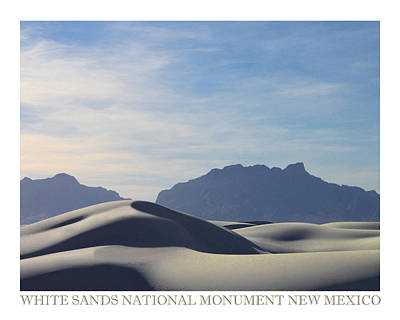 Photograph - White Sands National Monument by Jack Pumphrey
