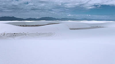Photograph - White Sands National Monument by Kent Nancollas