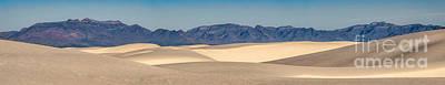 White Sands National Monument Pano Art Print