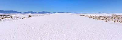 Photograph - White Sands National Monument Sand Dunes Panorama - New Mexico by Brian Harig
