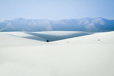 Photograph - White Sands, New Mexico by Ron Pate