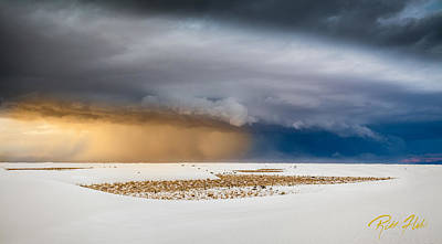 Photograph - White Sands Storm by Rikk Flohr