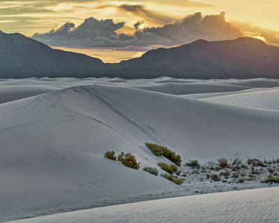 Photograph - White Sands Sunset - 5 - New Mexico by Nikolyn McDonald