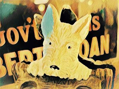 Westie Digital Art - Westie by Wendy Biro-Pollard