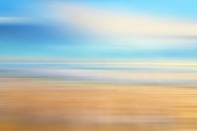 Photograph - White Seafoam Dreamscape   by Debra and Dave Vanderlaan