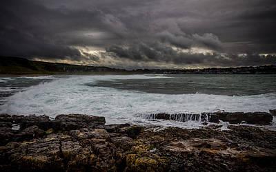 Photograph - White Seas by Alex Leonard
