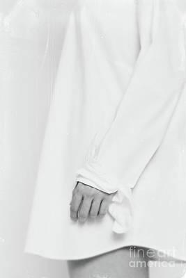 Photograph - White Shirt #5467 by Andrey Godyaykin