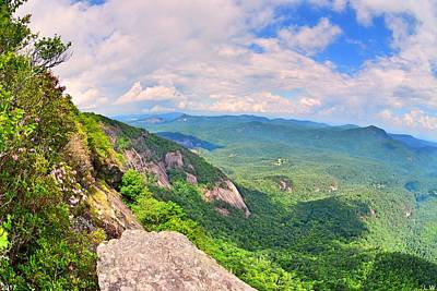 Photograph - White Side Mountain Fool's Rock by Lisa Wooten