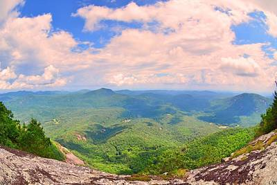 Photograph - White Side Mountain Nantahala National Forest by Lisa Wooten