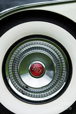 Fifties Buick Photograph - White Sidewall by Tim Gainey