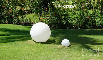Photograph - White Spheres by Jimmy Clark