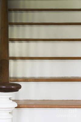 White Stairs Art Print by Margie Hurwich