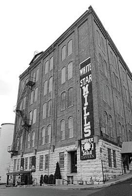 Photograph - White Star Mills 10 B W 1 by Joseph C Hinson Photography