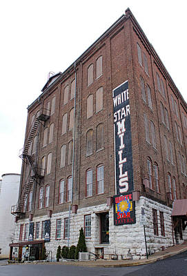Photograph - White Star Mills 10 Color by Joseph C Hinson Photography