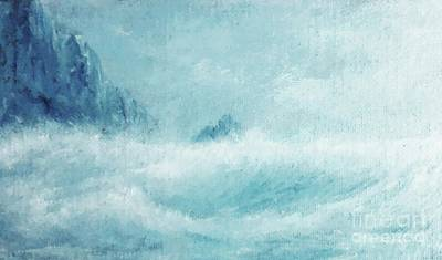 Etc Painting - White Storm by Paul Rowe
