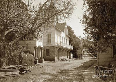 Photograph - White Sulpher Springs Near St. Helen, Napa, California by California Views Mr Pat Hathaway Archives