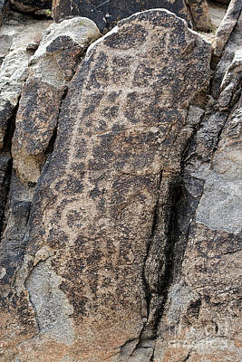 Photograph - White Tank Petroglyphs #1 by Anne Rodkin