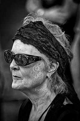 Photograph - White Tattoes by John Haldane