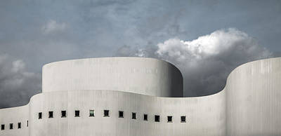 Theatre Photograph - White Theater by Gilbert Claes