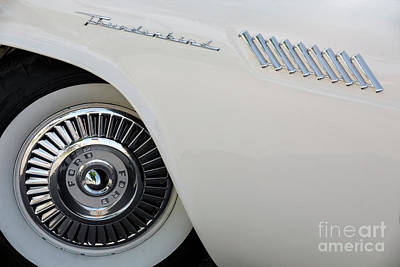 Photograph - White Thunderbird by Dennis Hedberg
