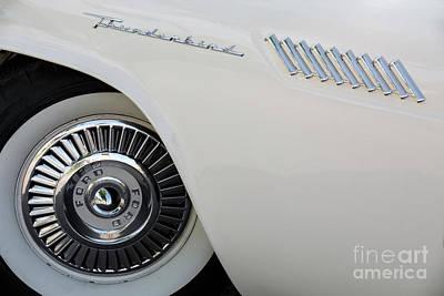 Photograph - White Thunderbird by Dennis Hedberg