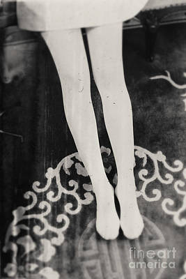 Photograph - White Tights by Andrey  Godyaykin