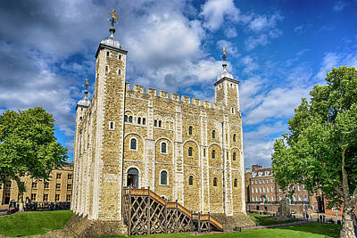 Photograph - White Tower Of London 7k_dsc1933_09092017  by Greg Kluempers