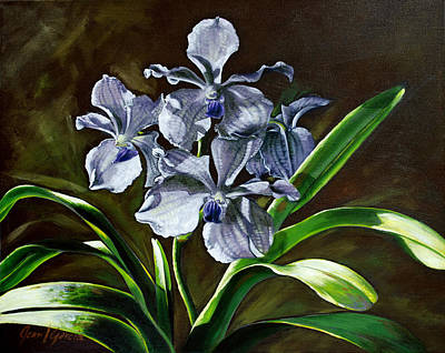 Painting - Morning Vanda by Joan Garcia