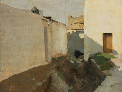 Painting - White Walls In Sunlight, Morocco by John Singer Sargent