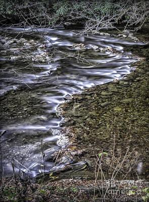 Photograph - White Water 2 by Walt Foegelle