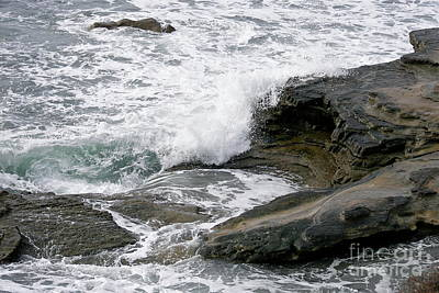 Photograph - White Water And Rocks by Carol  Bradley