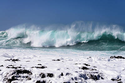 Photograph - White Water Beach by Michael Scott