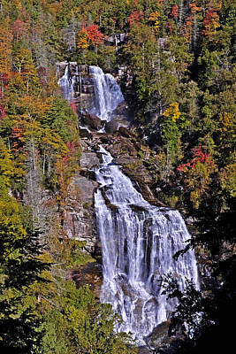 Photograph - White Water Falls by John Gilbert