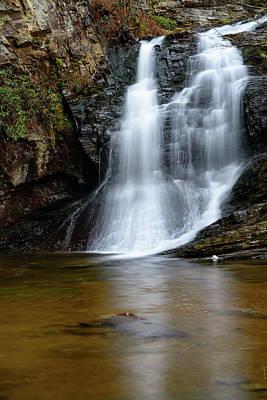 Photograph - White Water Falls by Michael Scott