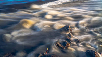 Photograph - White Water Rush by Julis Simo