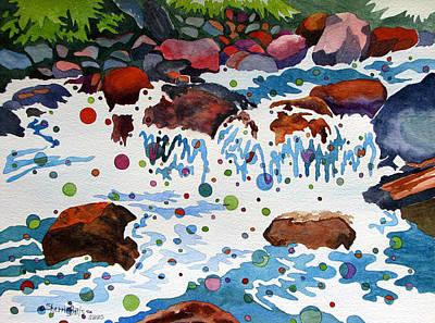 Painting - White Water by Sherri Bails