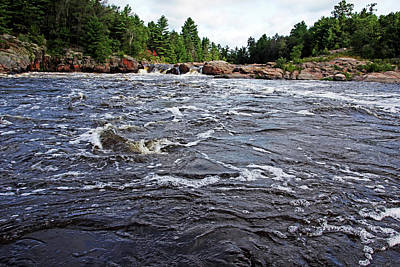 Ethereal - White Water Sturgeon Chutes by Debbie Oppermann