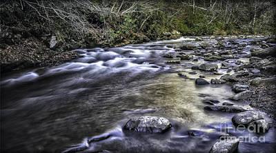 Photograph - White Water by Walt Foegelle