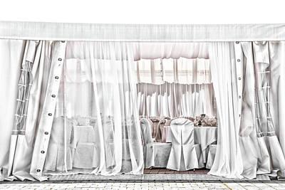 Photograph - White Wedding Day by Rabiri Us