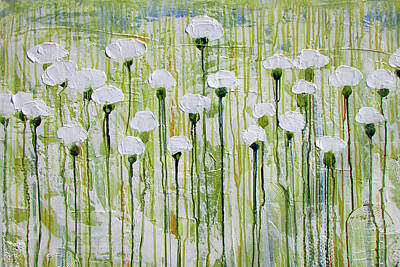 Painting - White White White by Diane Dean