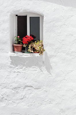 White Window Art Print