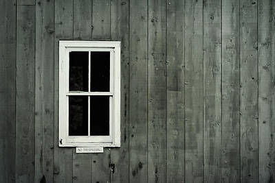 Photograph - White Window Minimalist by Terry DeLuco